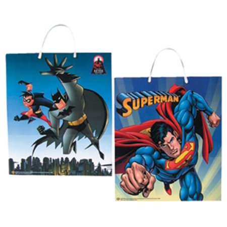 Batman Superman Trick Treat Bags (Minecraft Trick Or Treat Bag)