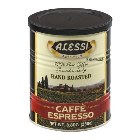 Alessi Caffe Espresso Hand Roasted, 8.8 OZ