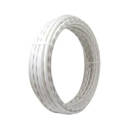 Id Pex Tube - Sharkbite/Cash Acme U850W50 PEX Coil Pipe, White, 1/4-In. Copper Tube Size x 50-Ft. - Quantity 1