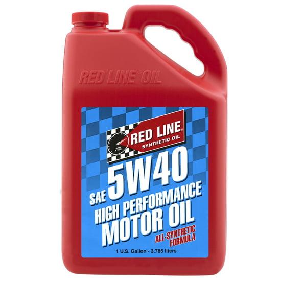 Redline 15405 5W40 Synthetic Motor Oil, Gallon