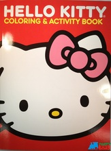 Hello Kitty Jumbo 64 pg. Coloring and Activity Book Red by