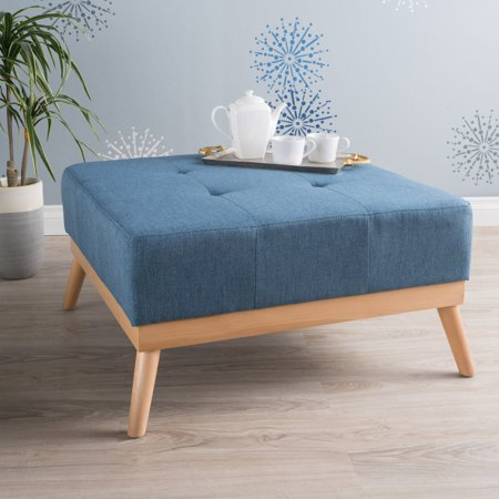 Luise Fabric Ottoman (Best Fabric For Ottoman)