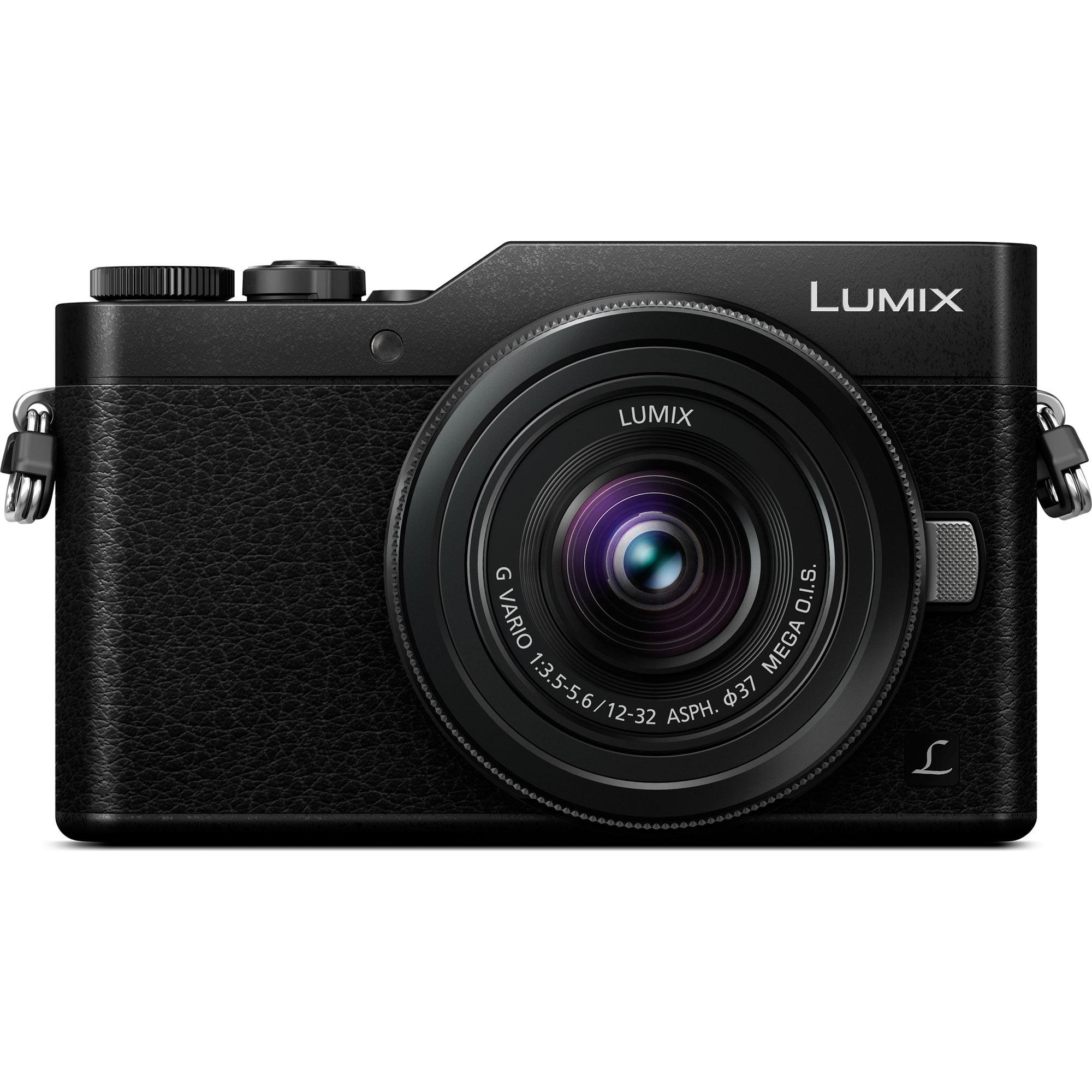 Panasonic LUMIX GX850 4K Mirrorless 16MP Black Digital Camera w/ 12-32mm F3.5-5.6...