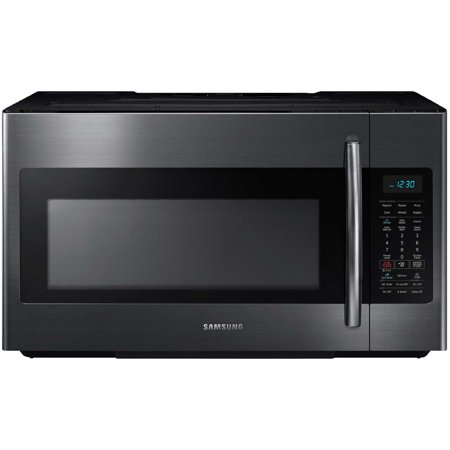 Samsung 1.8 Cu. Ft. Over-the-Range Microwave - Black Stainless (18 Microwave)
