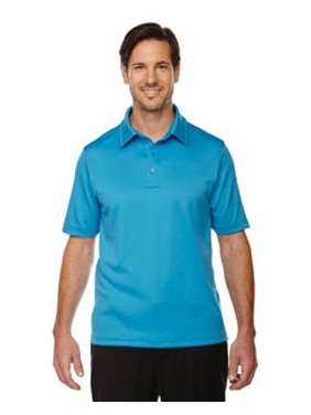 Ash City - North End Men's Exhilarate Coffee Charcoal Performance Polo with Back Pocket