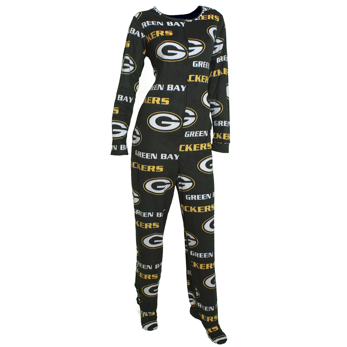 """Green Bay Packers NFL """"Fa''ade"""" Ladies Union Suit"""