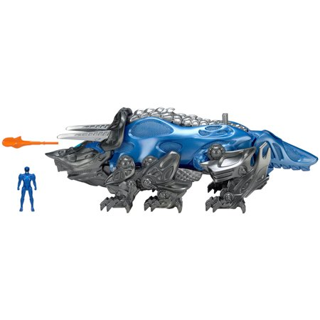 Power Rangers Movie Battle Zord with Figure, Blue (Blue Ringer)