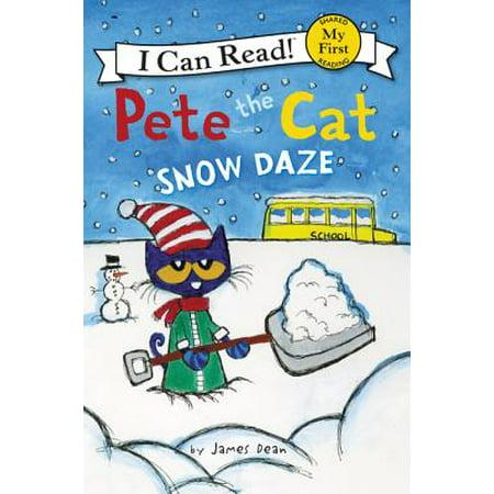 Pete the Cat: Snow Daze (Paperback) - Pete The Cat Plush