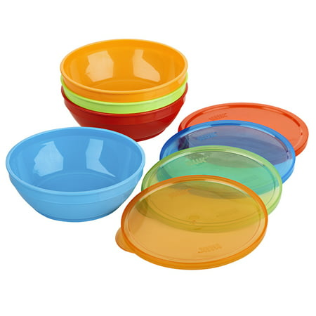 First Essentials by NUK Bunch-a-Bowls, Assorted Colors,