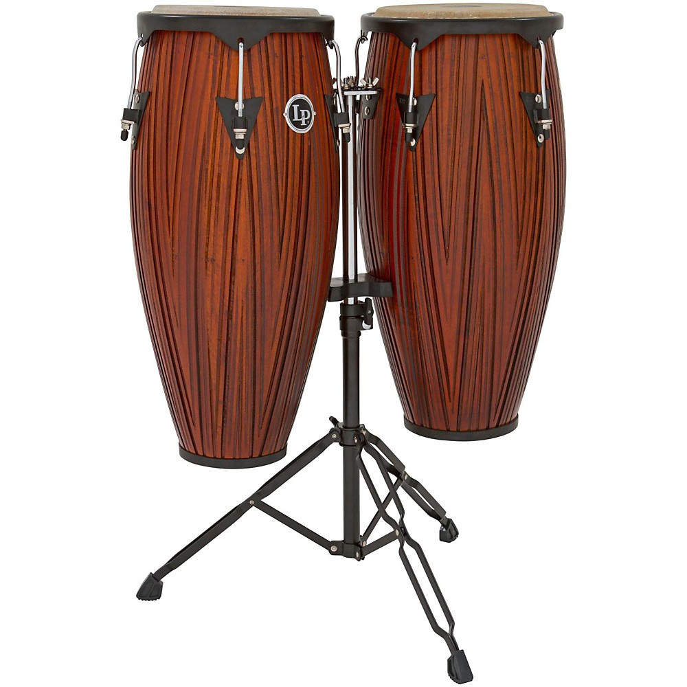 """LP City Wood 10"""" 11"""" Conga Set w  Stand by LP"""