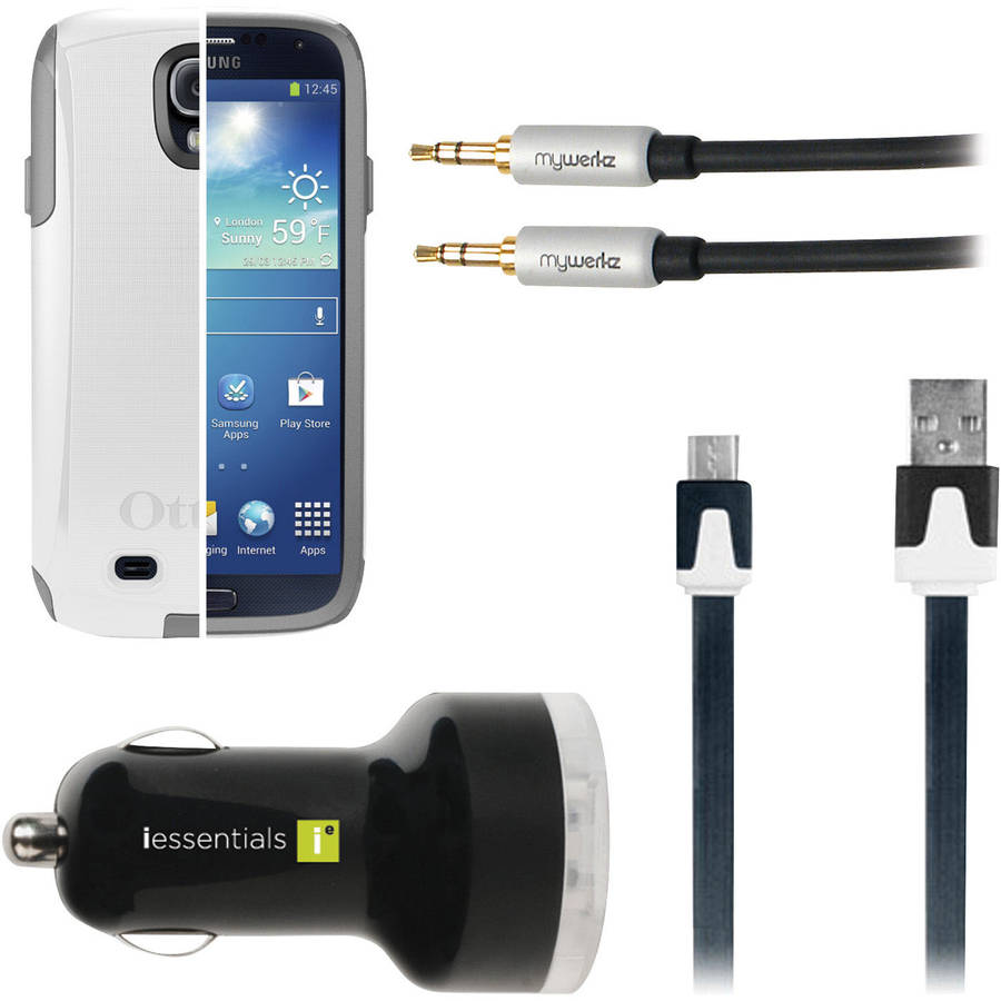 OtterBox Samsung Galaxy S4 Commuter Series Case with Car Accessories