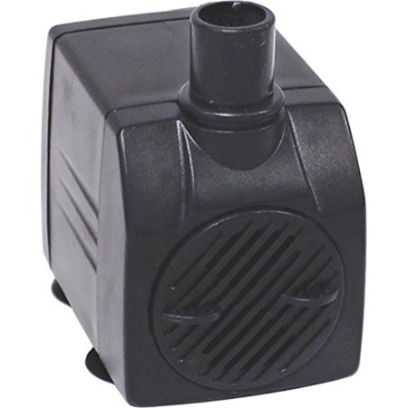 EasyPro Products MP125 Tranquil Decor Mag Drive Pump, 125 GPH, 1/2 outlet fitting, 6' power cord By EasyPro Pond Products