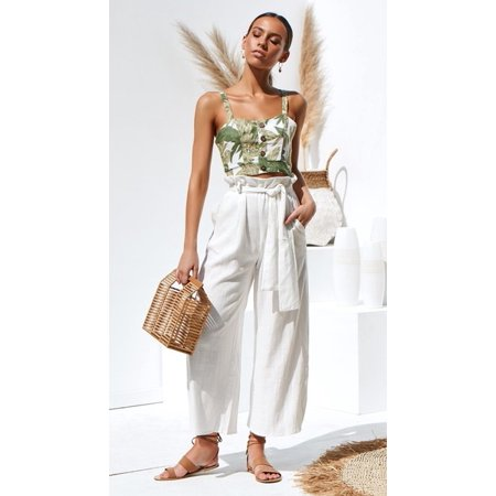 Women's Solid Color Wide Leg Loose Harem Pants with Waistband Womens Wide Waistband Pants