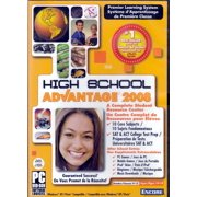 High School Advantage 2008 PC DVD - Complete Student Resource Center - 10 Core Subjects - SAT / ACT College Test Prep