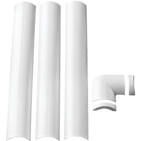 Omnimount Mini CMK Wall-Mounted Cable Management System, White