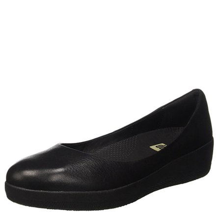 4e11ea688 FitFlop - FitFlop Women s Leather Superballerina Ballet Flats C10 ...