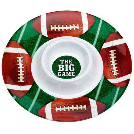 Football Party Resuable Chips & Dip Bowl Set 13