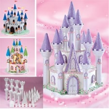 Wilton Romantic Castle Cake Set, 32 pc. 301-910