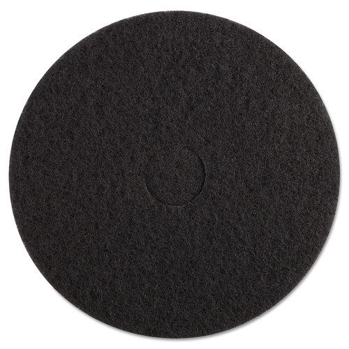 Premiere Pads PMP4017BLA Standard 17-Inch Diameter Stripping Floor Pads 5 Count