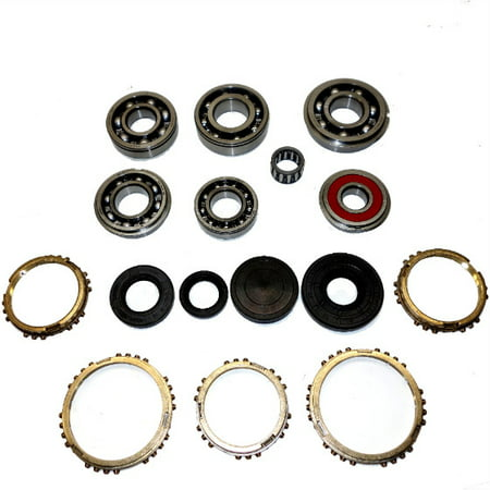 VIT5 Transmission Bearing/Seal Kit w/Synchro Rings 98-04 Chevrolet  Tracker/99-13 Suzuki Grand Vitara/99-04 Suzuki Vitara 5-Speed Manual Trans  4x4 USA