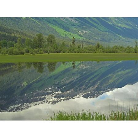 Mt Moose - Moose Lake, Mt. Robson Provincial Park, Canada Print Wall Art By Keith Levit