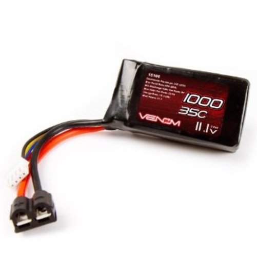 Venom Group International 35C 3S 1000mAh 11.1v LiPO Battery with Universal Plug