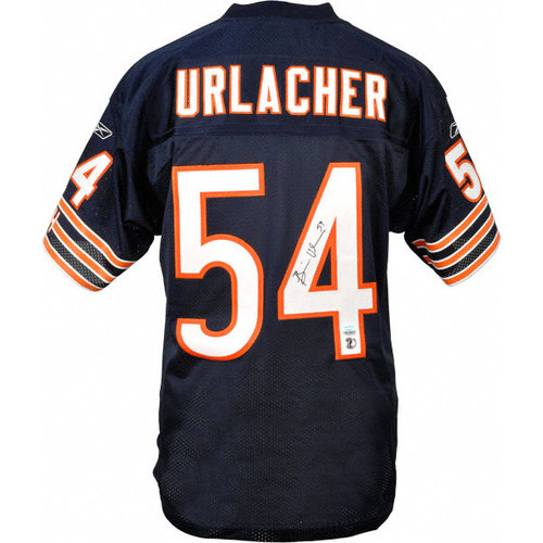 NFL - Brian Urlacher Autographed Jersey | Details: Chicago Bears, Reebok, Authentic, Navy