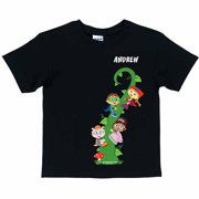 Personalized Super Why! Reading Adventure Kids' T-Shirt, Black