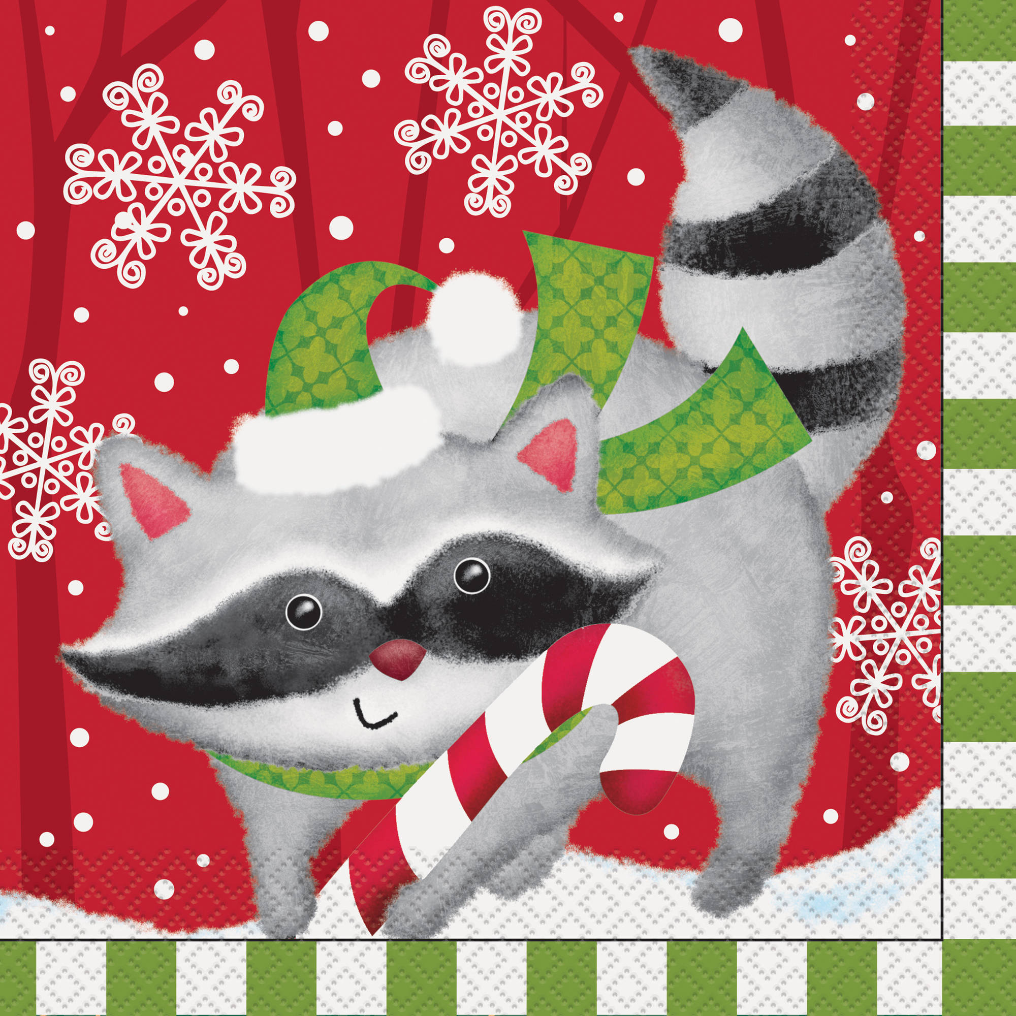 Woodland Christmas Luncheon Napkins, 16ct