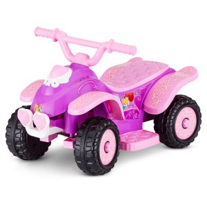 Kid Trax 6V Disney Princess Quad Ride-On (Styles May Vary)