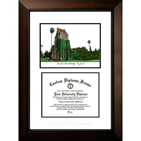 "San Jose State University 8.5"" x 11"" Legacy Scholar Diploma Frame"