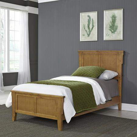 - Arts & Crafts Oak Twin Bed