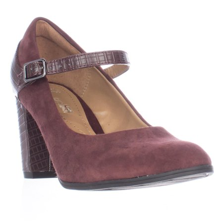 Womens Shoes Clarks Bavette Cathy Burgundy