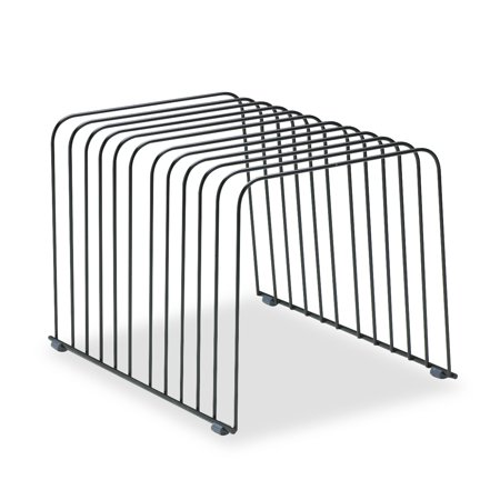 Fellowes Wire Desktop Organizer, 11 Comp, Steel, 9 x 11 3