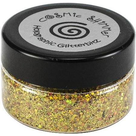 (Cosmic Shimmer Holographic Glitterbitz-Midas Gold)