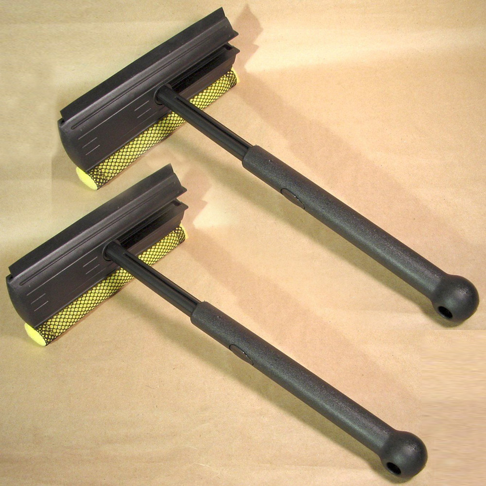 2 Foldable Window Windshield Easy Cleaner Shower Car Home Auto Wiper Sponge New