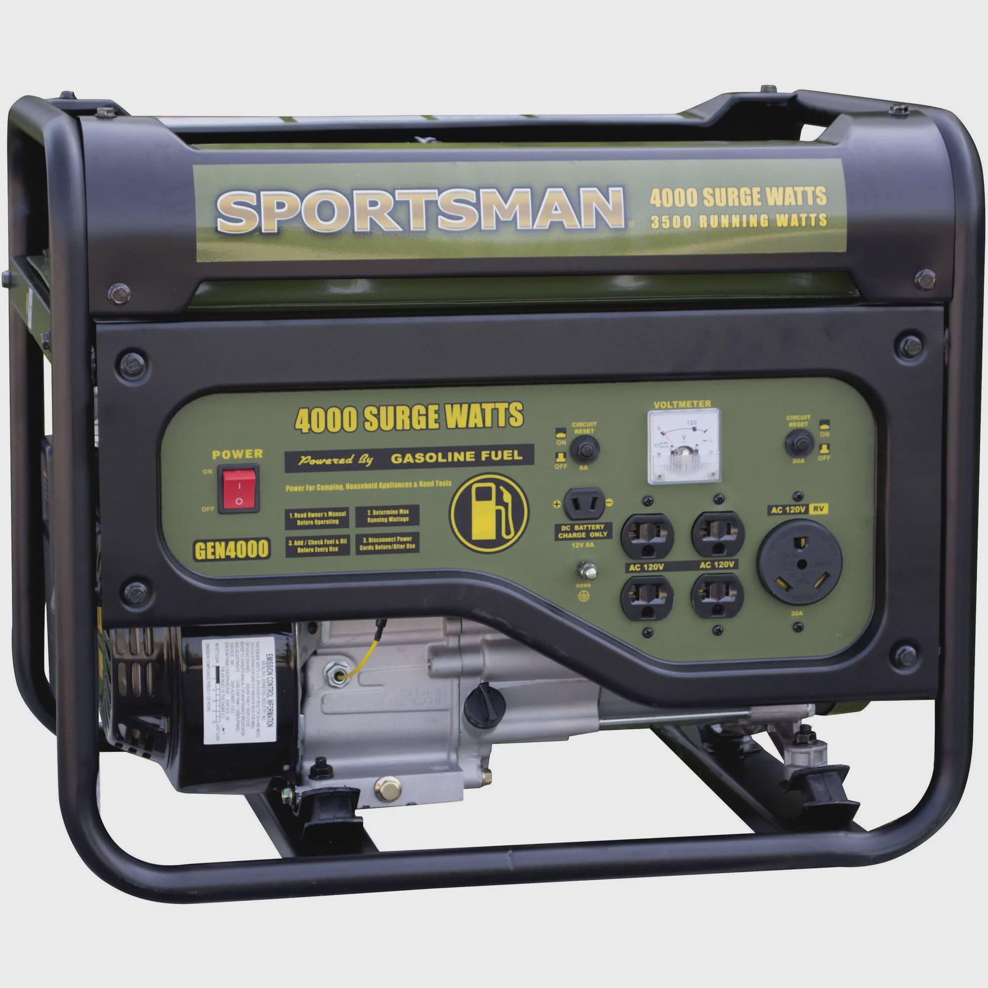 Sportsman Gasoline 4000w Portable Generator Telephone Ring Using Switching Supply