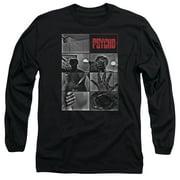 Psycho Shower Scene Mens Long Sleeve Shirt