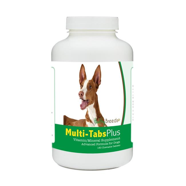 Healthy Breeds 840235174394 Ibizan Hound Multi-Tabs Plus Chewable Tablets - 180 Count - image 1 of 1