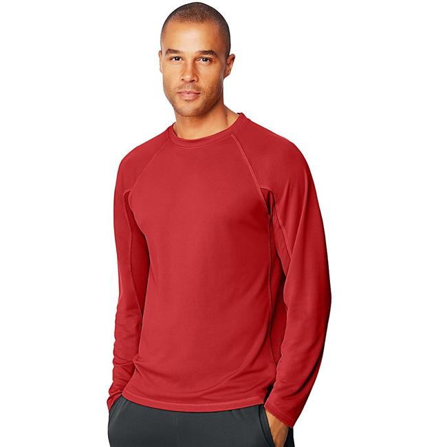 2XL Sport X-Temp Mens Performance Long-Sleeve Training T-Shirt, Multicolor - image 1 de 1