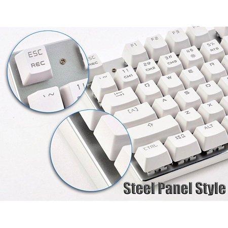 chonchow customized backlit 87 keys mechanical keyboard,usb
