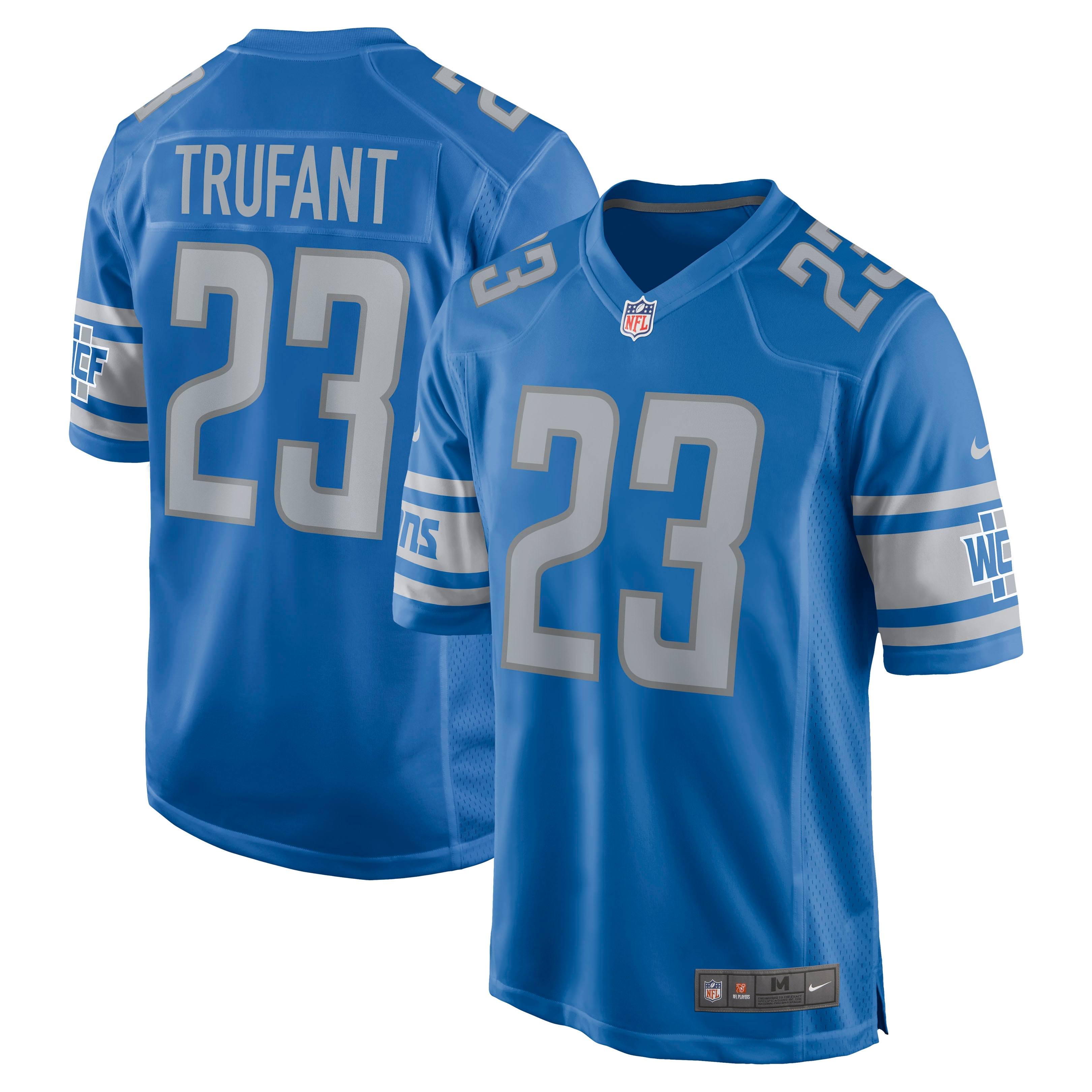 Desmond Trufant Detroit Lions Nike Game Jersey - Blue - Walmart.com