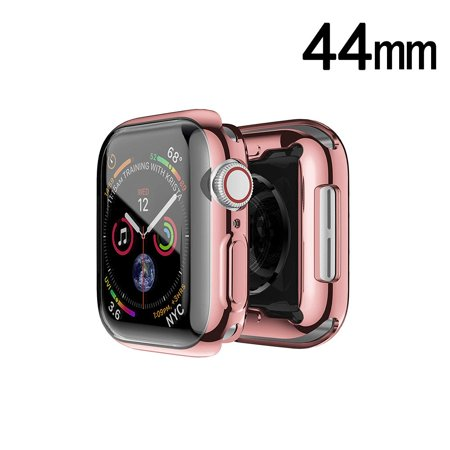 Electroplating Bumper Case for Apple Watch 44mm Series 4 - Rose Gold