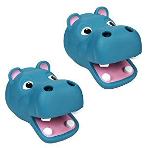 Kel-Gar Tubbly-Bubbly Faucet Cover, Set of 2 - Hippo