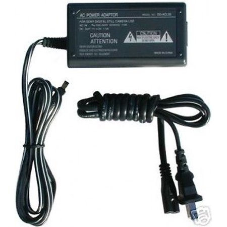 AC Adapter for Sony DCR-TRV107 ac, Sony DCR-TRV108 ac, Sony DCRTRV107 AC-L100 ac, Sony AC-L100A/B/C COMPACT AC POWER ADAPTER - 110/240v AC-L10A, ACL10A, AC-L10B, ACL10B, AC-L10C, ACL10C, AC-L100(Not made by sony) AC Adapter for Sony DCR-TRV107 DCR-TRV108 DCRTRV107 AC-L100 AC-L100A/B/C- 1-Year Warranty