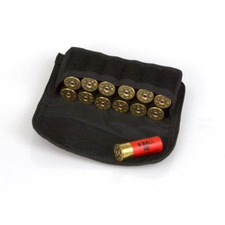 Black MOLLE Shotgun Shell Ammo Pouch from Charlie Delta Tactical