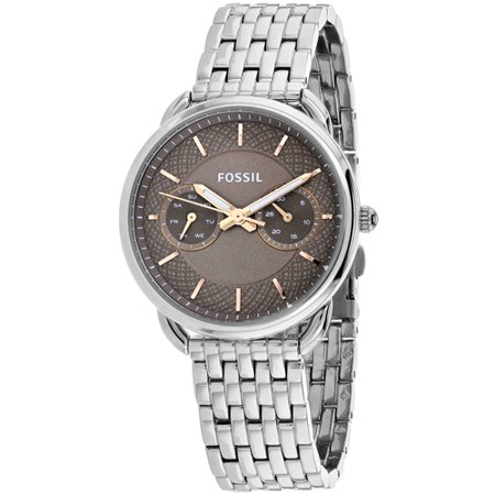 Fossil Womens Tailor Watch Quartz Mineral Crystal Es4225