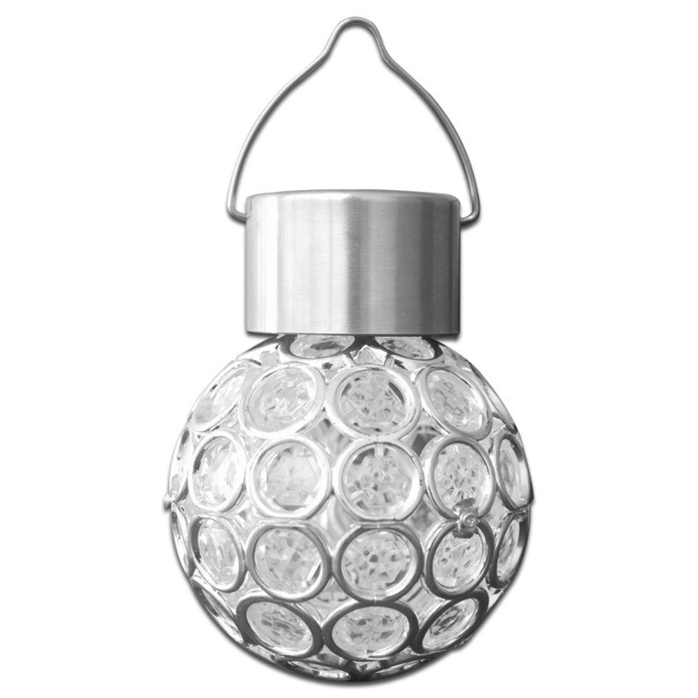 Innovative Solar Ball Hanging LED Lamp Color Change Walkway Light Outdoor Landscape Decorative Chandelier For Party