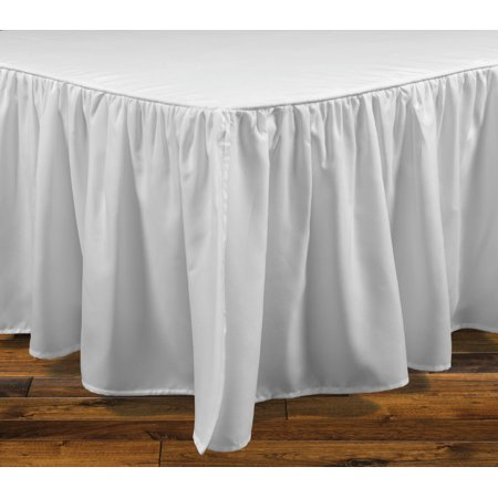 Image of Brielle Stream King Bed Skirt, White