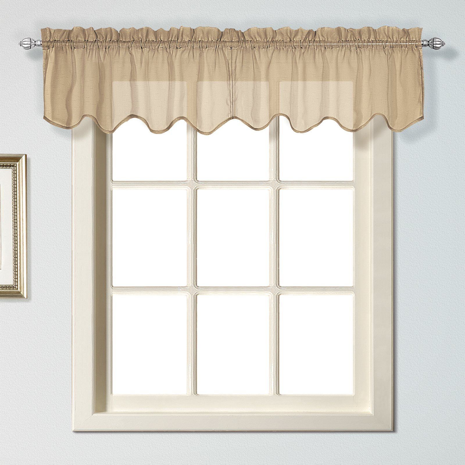 United Curtain Charleston Valance